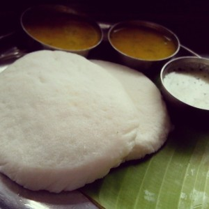 Tatte Idli with ghee and coconut chutney is yummy, nutritious and healthy