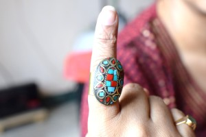 Mosaic Ring brought from Jabong.com